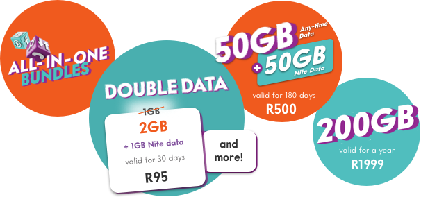 Stay connected with these amazing bundles