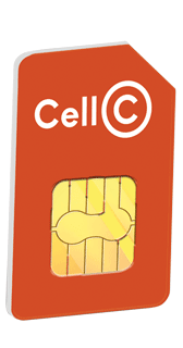 CELL C SMARTDATA 5GB SIM only