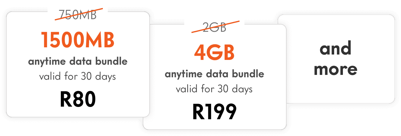 Recharge with 2X the Data