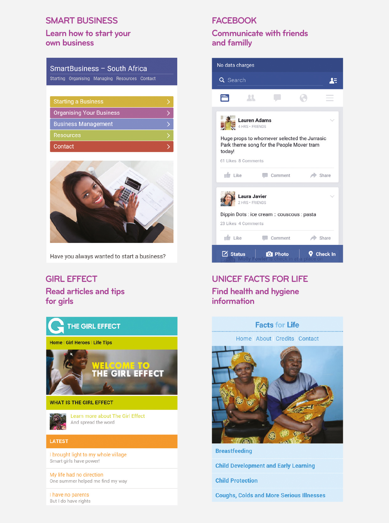 Free Basics for Facebook | Cell C